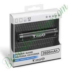 Cargador Portátil 2600 Aluminio Negro