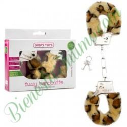 Esposas Furry Handcuffs Leopardo