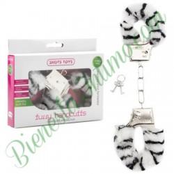 Esposas Furry Handcuffs Cebra