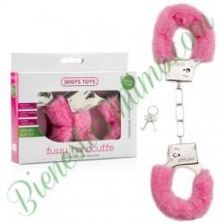 Esposas Furry Handcuffs Rosas