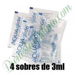 Lubricante Aquaglide Original 4 Monodosis