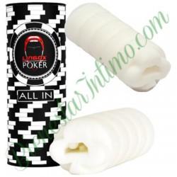 Masturbador Lingox Poker Trebol