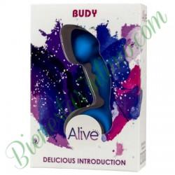 Plug Silicona Alive Budy Azul