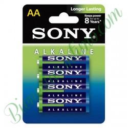 4 Pilas Alkalinas AA Sony