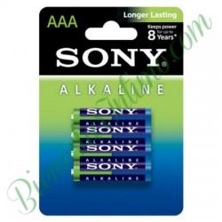 4 Pilas Alkalinas AAA Sony