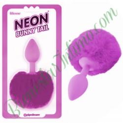 Pipedrem Neon Bunny Tail Morado
