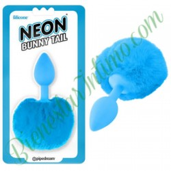 Pipedrem Neon Bunny Tail Azul