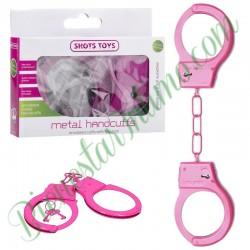 Esposas Metal Handcuffs Rosas