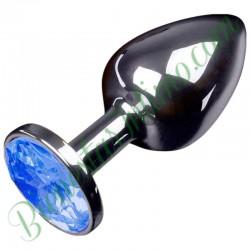 Jewellery Plug Metalico Azul