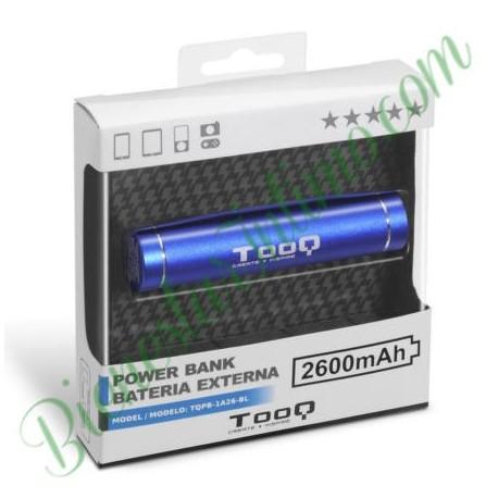 Cargador Portátil 2600 Aluminio Azul