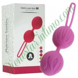 Geisha Lastic Balls (L) Lila