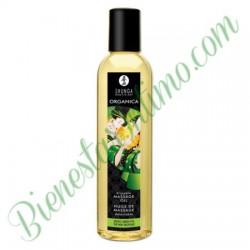 Aceite Masaje Orgánico Shunga Te Verde
